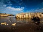 babalı sahildeki kayalıklar