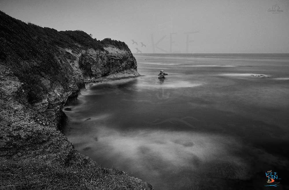 dalgalar zamanla tuzağzı kıyılarını nakış gibi işlemiştir