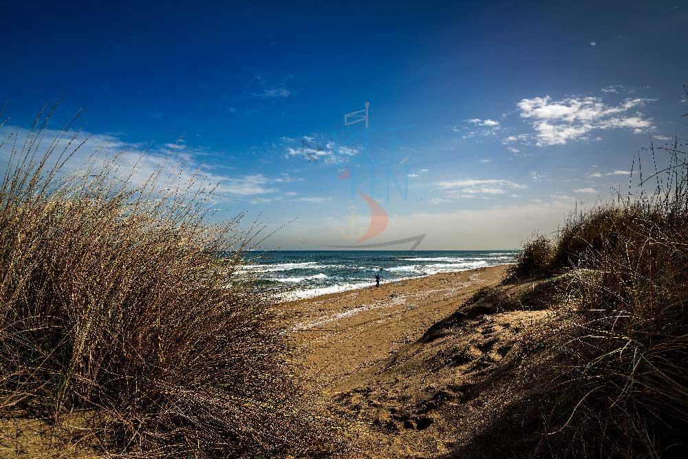 27 km uzunluğundaki karadeniz sahili